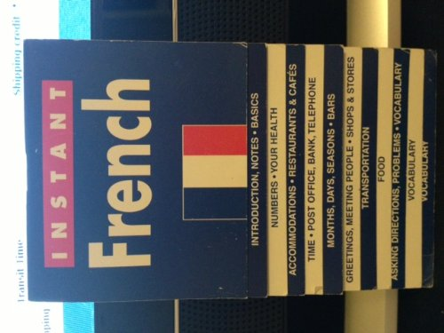 Instant French (Instant Language Guides Series) (0760769516) by Lexus