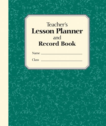 9780760769836: The Teacher's Lesson Planner And Record Book 2005: Green