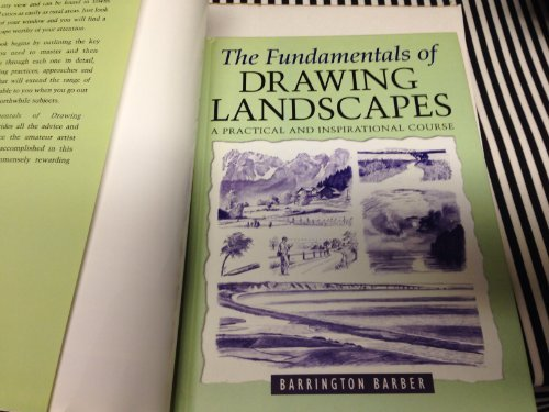 9780760770849: The Fundamentals of Drawing Landscapes