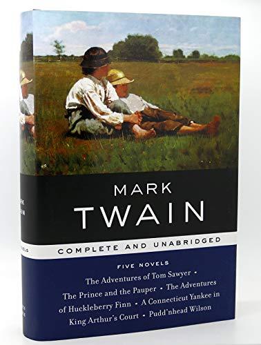 Mark Twain: Five Novels (Library of Essential Writers Series): Mark Twain