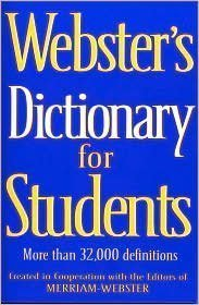 9780760775356: Webster's Dictionary for Students