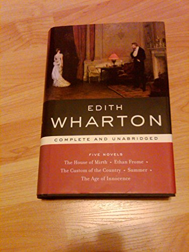 9780760776377: Edith Wharton: Five Novels (Library of Essential Writers)
