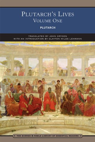 9780760780923: Plutarch's Lives Volume One (Barnes & Noble Library of Essential Reading)