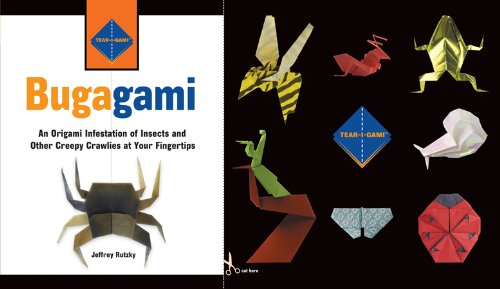 9780760782415: Bugagami: An Origami Infestation of Insects and Other Creepy Crawlies at Your Fingertips (Tear-i-Gami Series)
