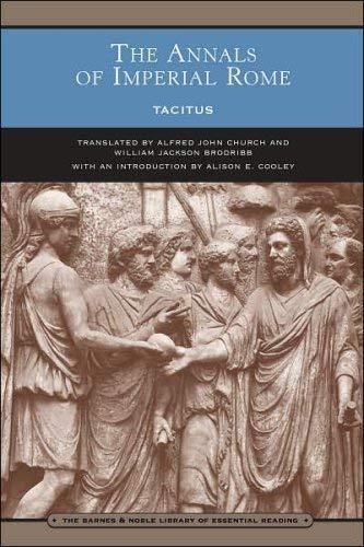 The Annals of Imperial Rome: Tacitus