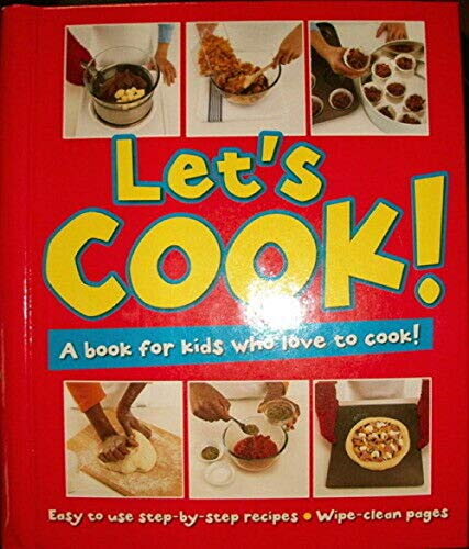 Let's Cook A Book for Kids Who: Back Pack Books