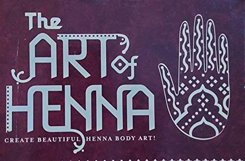 9780760794906: The Art of Henna Body Art Kit [Paperback] by Toor, Atif
