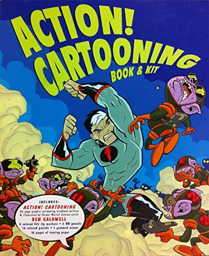 9780760795194: Action Cartooning Book & Kit