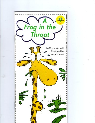 9780760817285: A frog in the throat (Read-aloud book) [Taschenbuch] by Waddell, Martin