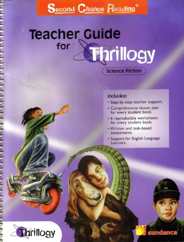9780760849040: Teacher Guide for Thrillogy Science Fiction (Second Chance Reading)