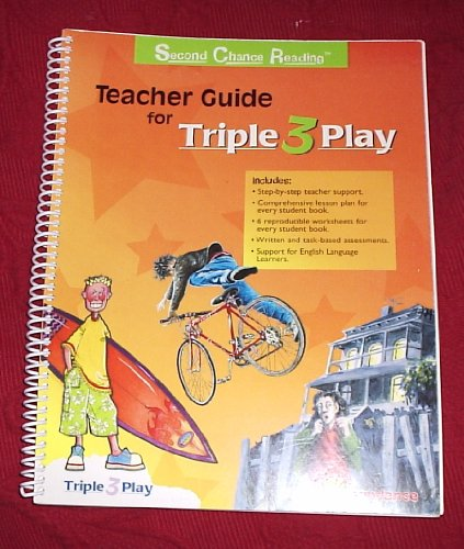 Second Chance Reading Teacher Guide for Triple Play (Second Chance Reading, Triple Play)