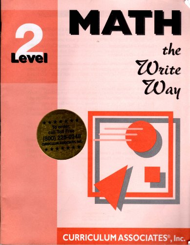 9780760903643: Math The Write Way Level 2