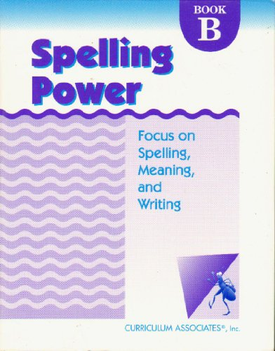 9780760908822: Spelling Power: Level B Focus on Spelling Meaning and Writing