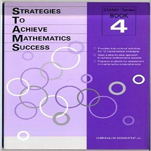 9780760911709: Strategies To Achieve Mathematics Success (Book 4)