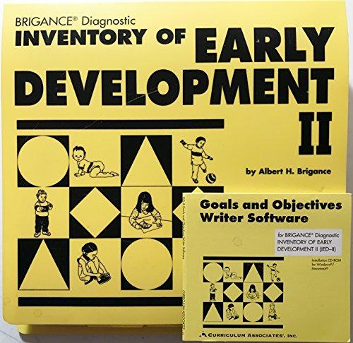 Brigance Diagnostic Inventory of Early Development II: Albert H. Brigance