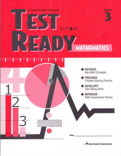 9780760929094: Test Ready Mathematics Book 3 (A Quick Study Program)