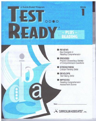 Test Ready Plus Reading Book 1 (A Quick Study Program): Deborah Adcock