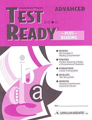 Test Ready Plus Reading Advance: Krensky, Jane