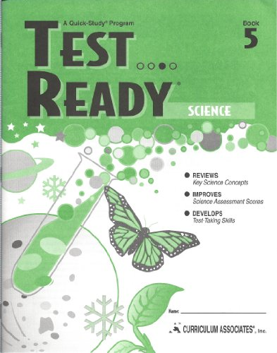 9780760931035: Science (Test Ready, 5)