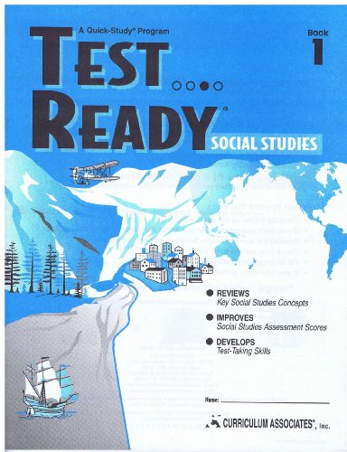 9780760931158: Test Ready Social Studies Grade 1 (Test Ready)