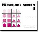 Brigance Preschool Screen II: Albert H. Brigance