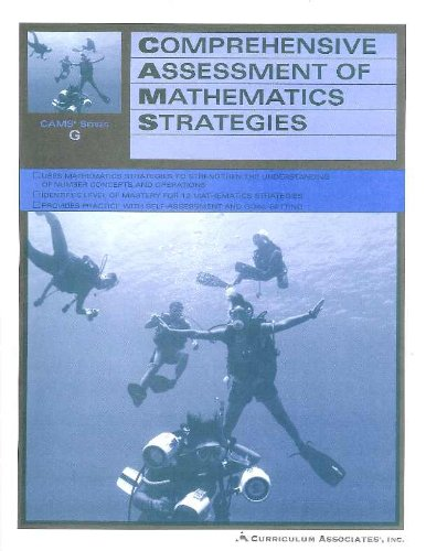 9780760936054: Comprehensive Assessment Of Mathematics Strategies - CAMS Series G - Students Edition - 7th Grade