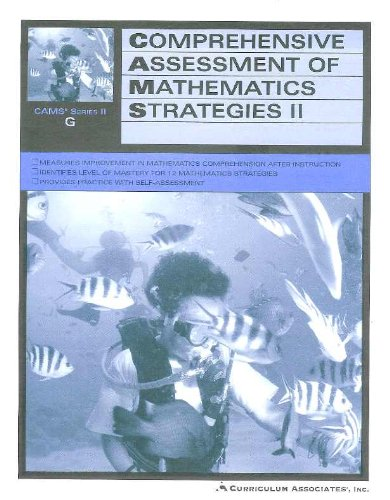 Comprehensive Assessment Of Mathematics Strategies II - CAMS Series II G - Students Edition - 7th ...