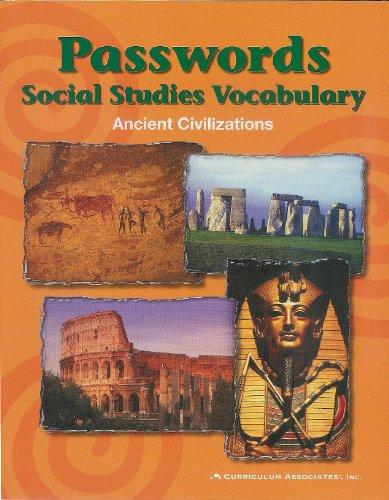 9780760944967: Passwords Social Studies Vocabulary Ancient Civilizations STUDENT BOOK