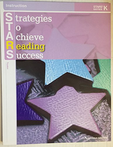 9780760948781: Strategies To Achieve Reading Success - STARS SERIES K - Student Edition