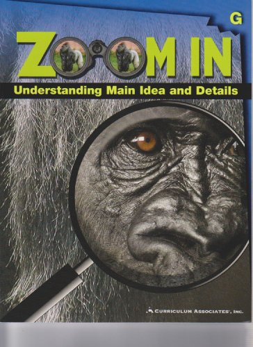 9780760949825: Zoom in Understanding Main Ideas and Details Book G