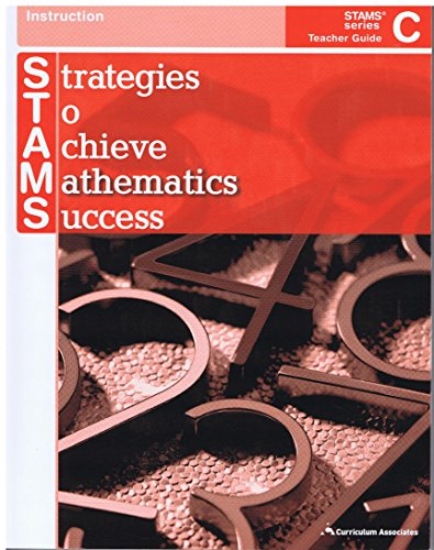 9780760968598: Stategies to Achieve Mathmatics Success Teacher Guide C (STAMS)