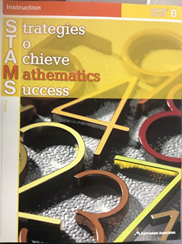 9780760970232: Strategies to Achieve Mathematics Success (Student book) (STAMS series B)