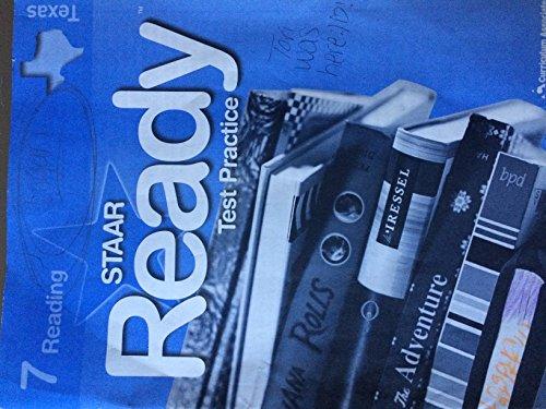 9780760973929: Reading Staar Ready Test Practice Texas Grade 7