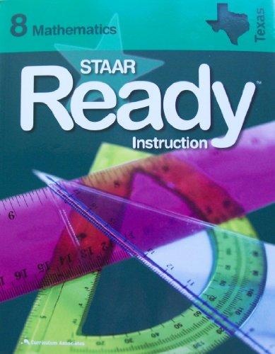9780760974728: Staar Ready Instruction: Mathematics 8 - Texas