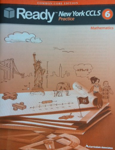 9780760978528: Ready New York Common Core Practice Test for Math, Grade 6
