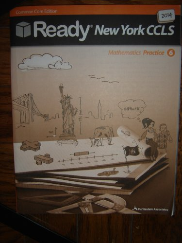 9780760984710: 2014 Ready New York Common Core Practice Math Grade 6 (Ready)