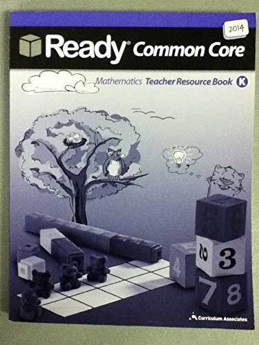 9780760988565: Ready Common Core Mathematics Teacher Resource Book K