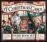 9780761100362: A Christmas Carol: Story Book Set and Advent Calendar (Workman Undated Diaries/Advent Calendars)