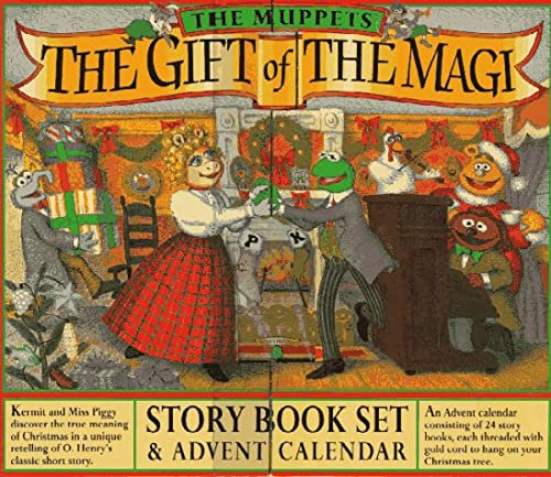 9780761105329: The Muppets the Gift of the Magi: Story Book Set & Advent Calendar