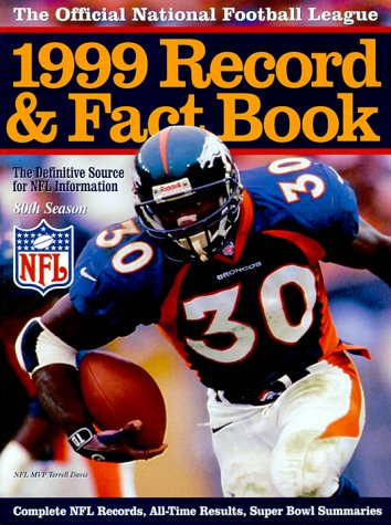 9780761117001: The Official NFL 1999 Record & Fact Book (Official National Football League Record and Fact Book)