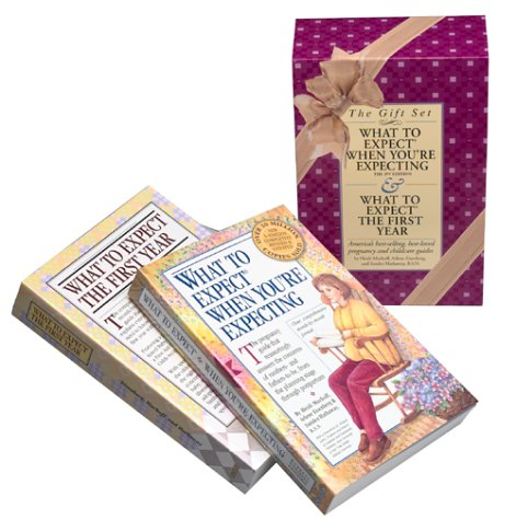 What to Expect Gift Set: What to Expect When You're Expecting/What to Expect the First Year (0761117881) by Eisenberg, Arlene; Murkoff, Heidi; Hathaway B.S.N, Sandee
