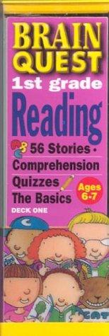 9780761119739: Brain Quest 1st Grade Reading: 56 Stories, Comprehension Quizzes : The Basics : Deck 1 Ages 6-7