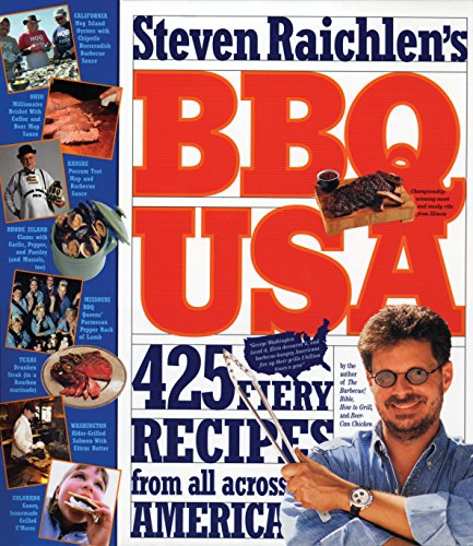 9780761120155: BBQ USA: 425 Fiery Recipes from All Across America