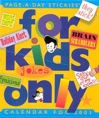 For Kids Only Page A Day Diary (9780761120339) by N/A