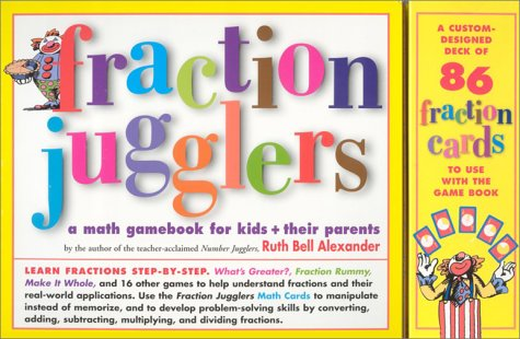 9780761121046: Fraction Jugglers: A Math Gamebook for Kids and Their Parents