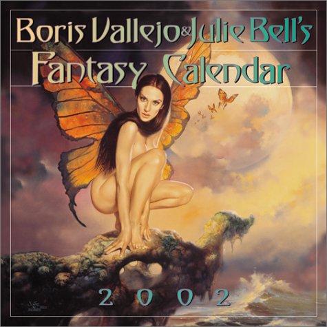 9780761122876: Boris Vallejo & Julie Bell's Fantasy 2002 Calendar