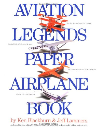 9780761123767: Aviation Legends Paper Airplane Book
