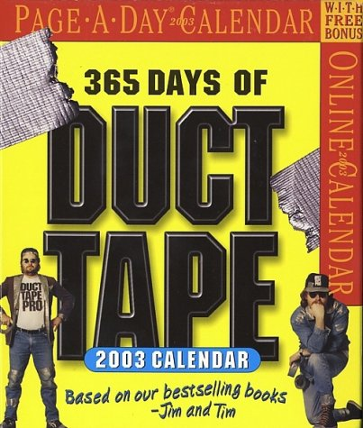 9780761126089: Duct Tape Page A Day 2003