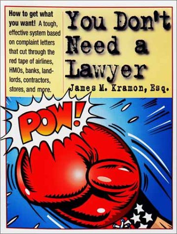 9780761126348: You Don't Need a Lawyer