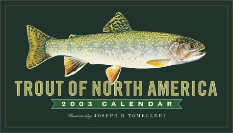 9780761127109: Trout of North America 2003 Calendar